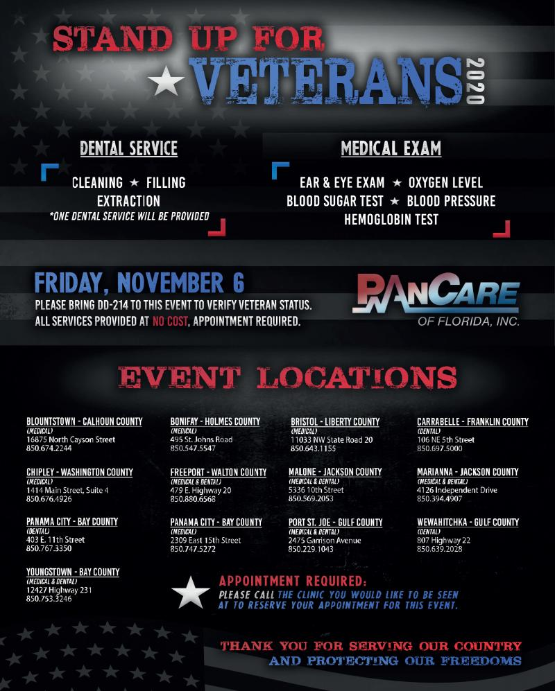 Stand Up For Veterans Event